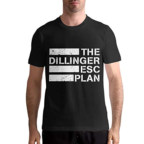 Ryan C Schmitt The Dillinger Escape Plan Black T-Shirt for Man Custom Short Sleeve Top Tees 6XL