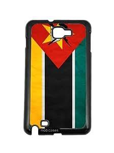 Flag of Nebraska - Protective Designer BLACK Case - Fits HTC One X / One X+