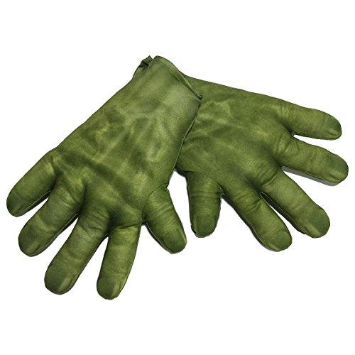 Hulk Gloves Kids Superhero Costume Avengers Halloween Fancy Dress Up (50s Dress Up Ideas)
