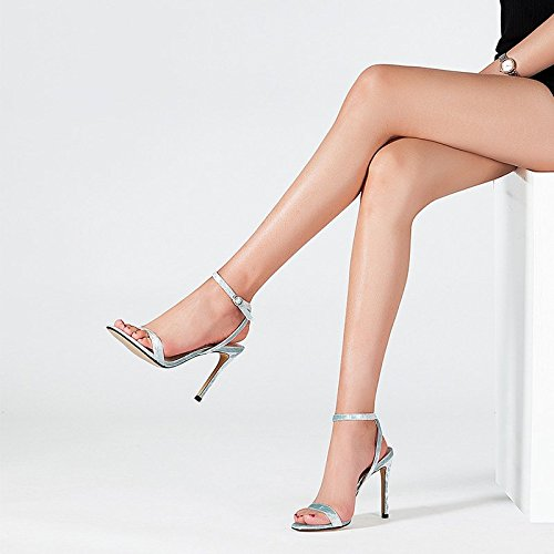 Con 6 dimensioni Sandali Alti Discoteche Donna 25cm Scarpe Bene 8 Tacchi Da Estate uk 39 jp Eu Fibbia Femminili us Selvaggia Jianxin dHwXOqO