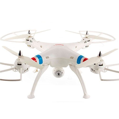 Cheap Origional Syma X8c 2.4g 4ch 6 Axis Venture with 2mp Wide Angle Camera Rc Quadcopter RTF Rc Helicopter-(white)