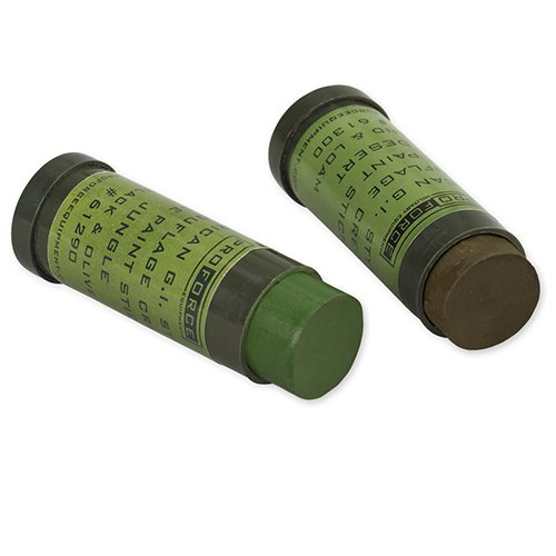 NATO CAMOUFLAGE FACE PAINT STICKS - 2 pack