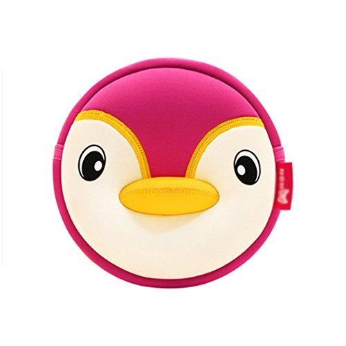 Kids shoulder bag 3D Cute Zoo Cartoon School penguin crossbody