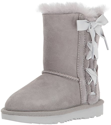 UGG Girls T Pala Pull-on Boot, Grey, 9 M US Toddler (Tall Ugg Boots 9)