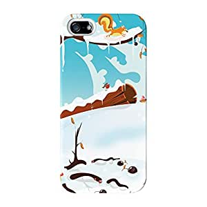 Winter Landscape Full Wrap High Quality 3D Printed Case for iPhone 5 / 5s by Nick Greenaway + FREE Crystal Clear Screen Protector