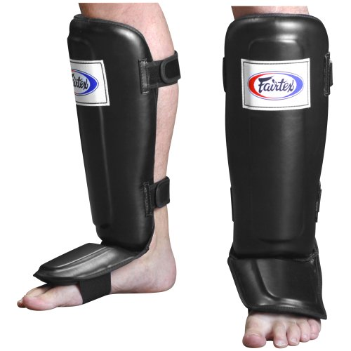 Fairtex Pro-Style MMA Muay Thai Kickboxing Protective Grappling Shin Instep Guards - Grappling Shin Instep Guards