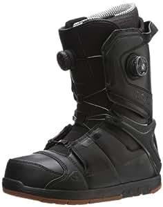 thirtytwo Men's Focus Boa Snowboard Boot,Black,5 D US