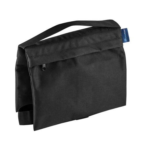 18lb Capacity, Black Water-Resistant Cordura Nylon Flashpoint Empty Saddle Sandbag