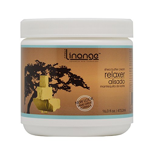 Linange Shea Butter Relaxer 15oz Sale! (Best Relaxer For Mixed Race Hair)