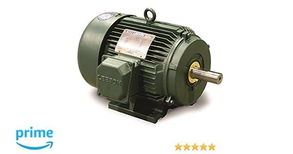 Leeson 171630.60 Wattsaver Plus Severe Duty Motor, 3 Phase, 184T Frame, on