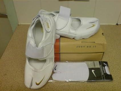 Nike Rift Womens Trainers White And Gold Size 6 UK  Amazon.co.uk  Kitchen    Home 7991eae5fe