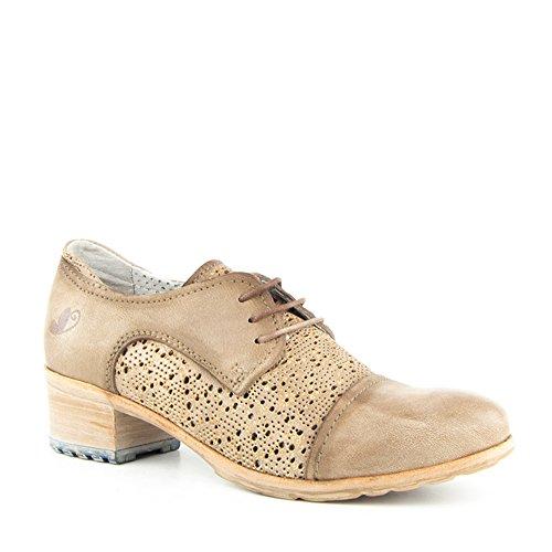 Felmini Enrico P852 - Botas de Piel para mujer marrón marrón, color marrón, talla 38 EU