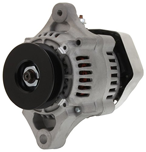 Brand New MINI 1 wire Race Car Hot Rod Alternator Computer Tested 6.5 LBS! 50 Amps!