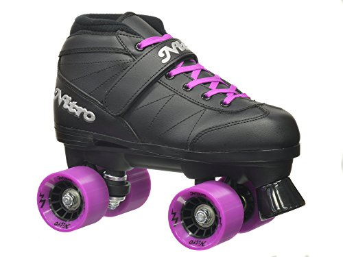 Epic Skates Super Nitro Purple Quad Speed Skates for sale  Delivered anywhere in USA