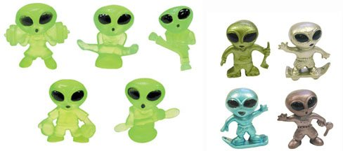 Tiny 1 Alien Figures Lot of 20