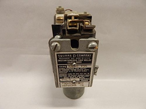 Instantaneous Trip Relay (Square D 9055NAO-1 Y35 Instantaneous Trip Relay Adjustable .7-1.5 Amperes Range)