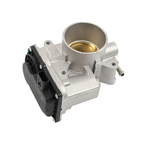 HOWYAA HYVE55A Electronic Fuel Injection Throttle Body Assembly Compatible for 2006-2013 MAZDA 3 5 6-Replace#L3R4-13-640 L3G2-13-640A 125001390