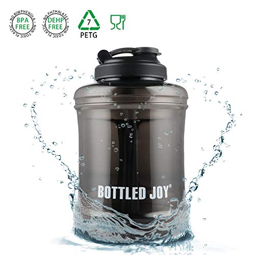 BOTTLED JOY 83oz Water Jug Large Capacity Wide Mouth Sports Water Bottle (WBB-2)
