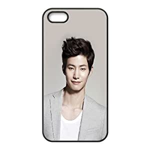 iPhone 5 5s Cell Phone Case Black he37 song jaerim kpop actor celebrity SUX_911357