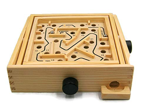 Legler New Labyrinth Chico 3D Wooden Labyrinth Toy for Ages 3+ (Labyrinth Of Echo)