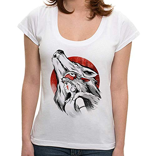 - Camiseta Princesa Mononoke - Feminina - P