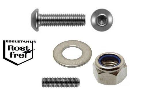 EDELSTAHL Schrauben Set f. Fahrräder (über 200 Teile)