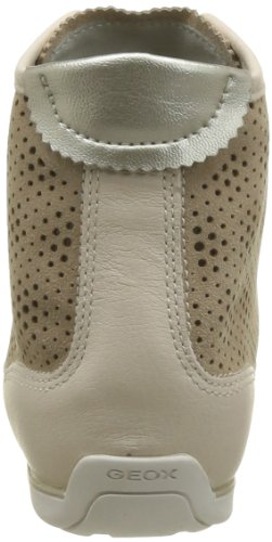 Geox D New Moena C D4260c022qlc4089 - Zapatillas para mujer, color azul, talla 41 Beige (Beige - Beige (Beige Skin))