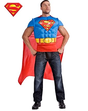 Rubies Costume Co R880530-STD Muscle Mens Superman adulto ...