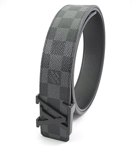 damier-graphite-belt-grey-initials-buckle-32-36-inch