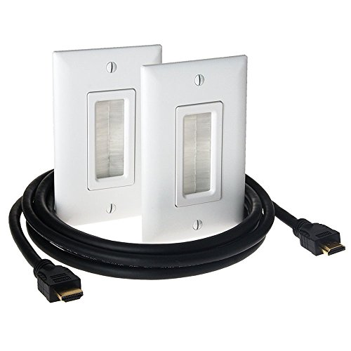 Legrand - On-Q HDMI In-Wall Connection Kit, HT2000WHV1 by Legrand-On-Q