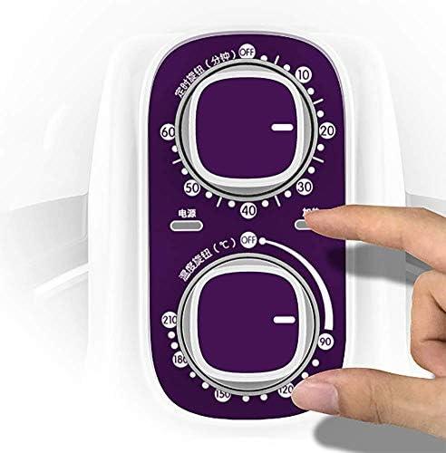 ZZHMW Friteuse électrique à air chaud extra grande capacité 5 l/5 Qt et accessoires supplémentaires, recettes et brochettes, 1100 W (Noir, Blanc), blanc