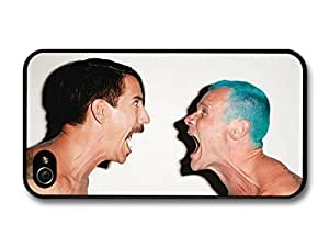 Red Hot Chili Peppers Rock Band RHCP Anthony Kiedis and Flea case for iPhone 4 4S A4276