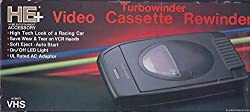 Garrard #8672ejp Vhs Turbowinder Video Cassette Rewinder