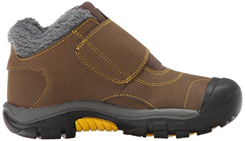 KEEN Kootenay Waterproof Winter Boot (Little Kid/Big Kid), Dark Earth/Spectra Yellow, 4 M US Big Kid by KEEN (Image #7)