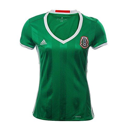 Adidas Womens 2016 Mexico Replica Home Jersey (Mexico Home Jersey)
