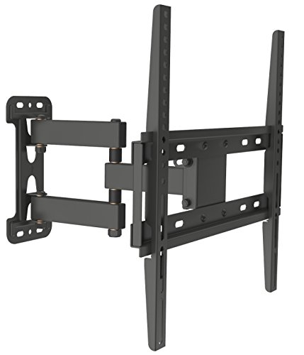 Husky Mounts for Most 32-55 Inch Full Motion TV Wall Mount Articulating Tilt Swivel Heavy Duty Corner Friendly Bracket. up to VESA 400x400 (16