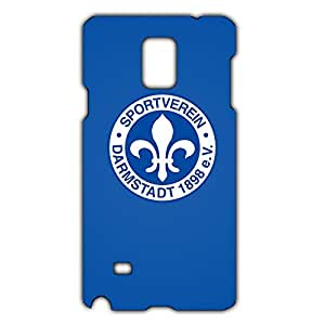 Unique Design FC SV Darmstadt 98 Theme Football Club Phone Case Cover For Samsung Galaxy Note 4 3D Plastic Phone Case