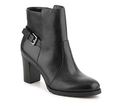 Boots Womens bo Ralph Toe Fashion by cabrey Ankle LAUREN Lauren Black Closed Leather q1WPUt