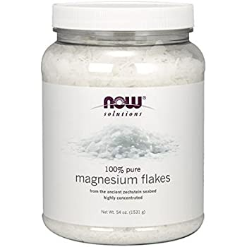 NOW Foods Magnesium Flakes, 54 Ounce