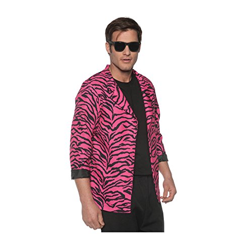 Rockstar Costume Ideas For Men (80's Zebra Blazer Costume (XX-Large))