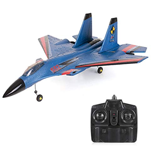 - Goolsky FX-861 2.4G 2CH 480mm Wingspan Remote Control Fighter Fixed Wing with Light EPP RC Airplane Aircraft RTF