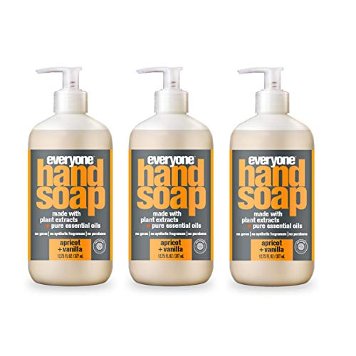 (Everyone Hand Soap, Apricot and Vanilla, 12.75 Ounce, 3 Count)
