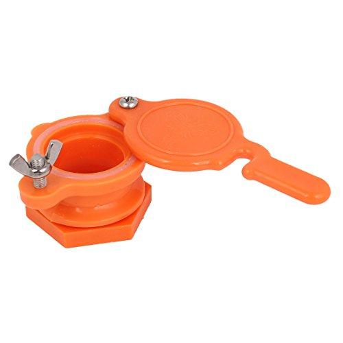 Orange Plastic Extractor Beekeeping Bottling