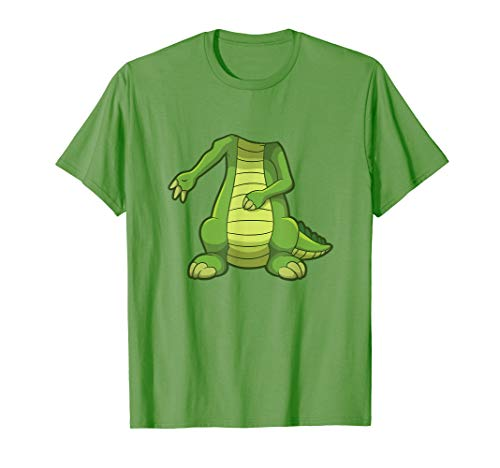 Easy Crocodile Halloween Costume Funny Cute Gift T-shirt ()