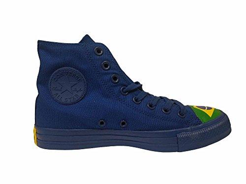 Converse Unisex Chuck Taylor All Star Hi Basketbalschoen Blauw / Groen / Geel