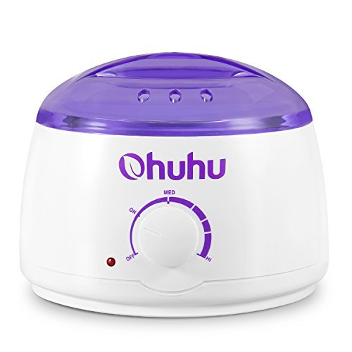 Hot Wax Warmer, Ohuhu Electric Wax Warmers Melting Pot for Facial Skin Body Hand Foot Leg Hair Removal, Waxing Heater Pot Machine for Other Therapeutic Waxes, Paraffin by Ohuhu