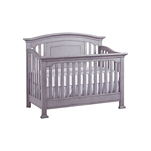 Full Size Conversion Kit Bed Rails for Baby Cache Chesapeak, Medford, Riverside & Windsor Cribs - Gray by CC KITS (Image #8)