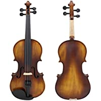 New Astonvilla AV-506 4/4 Spruce Solid Wood Vintage Violin with Case&Accessories By KTOY