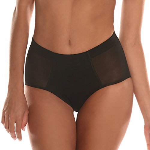 Bubbles Bodywear BB Silicone Padded Panty (Medium, Black) (Silicone Panties)