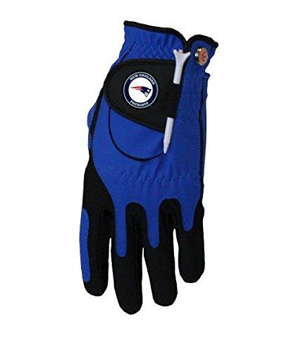 Zero Friction NFL New England Patriots Blue Golf Glove, Left Hand by Zero Friction
